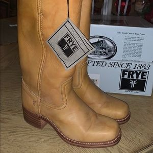 Brand new never worn Frye women's boots size 10